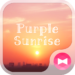 Sky Wallpaper Purple Sunrise