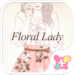 Spring Wallpaper-Floral Lady-