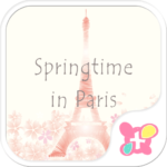 Springtime in Paris Wallpaper