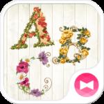 Stamp Pack: Lovely Flower ABCs