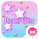 Star wallpaper Dreamy Glitter