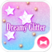 Star wallpaper Dreamy Glitter