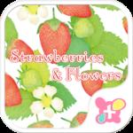 Strawberries & Flowers Theme