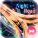 Stylish Theme Night Road
