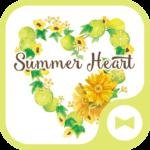 Summer Heart  Flower Wallpaper