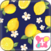 Summer Theme-Citrus Navy-