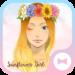 Sunflower Girl +HOME Theme
