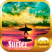 Surfing Theme Surfer