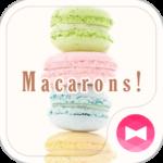 Sweet Wallpaper-Macarons!-