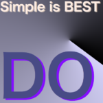 TODO ~Simple is BEST~