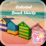 Theme-Colorful Beach Shacks-