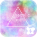Theme-Psychedelic Triangle-