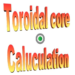 Toroidal core calculator