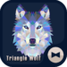 Triangle Wolf  Cool Theme