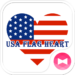 USA Flag Heart Wallpaper