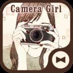 Wallpaper Camera Girl Theme