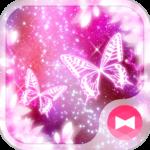 Wallpaper Cosmic Butterflies