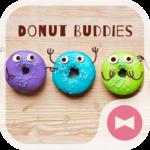 Wallpaper Donut Buddies Theme