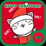 Wallpaper Kitty Christmas