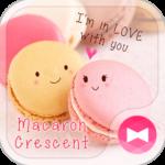 Wallpaper-Macaron Crescent-