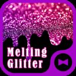 Wallpaper Melting Glitter