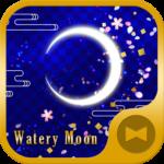Watery Moon Wallpaper