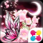 蝶夜曲-桜- for[+]HOMEきせかえテーマ