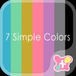 icon&wallpaper 7 Simple Colors