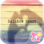 icon&wallpaper-Rainbow Heart-