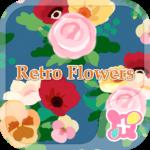 icon&wallpaper-Retro Flowers-