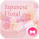 pink Theme Japanese Floral