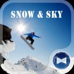 snowboarder Wallpaper Snow&Sky