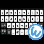 Black&White keyboard image