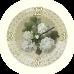 Clover Analog Clock Widget