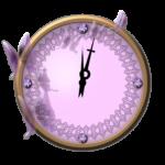 Crystal Analog Clock Widget