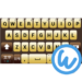 Darkbrown keyboard image