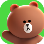 LINE FRIENDS – characters / backgrounds / GIFs