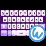 Lavender keyboard image