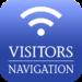 Navigation app for visitors