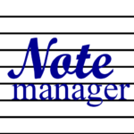 Noteman – note manager