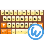 OrangeSharbet keyboard image