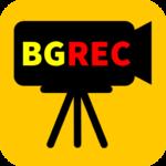 BGレコーダ (簡易なドライブレコーダ 防犯カメラ)