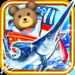 クマ、世界を釣る![登録不要の直感型釣りゲーム]
