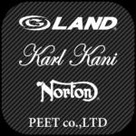 PEET(G-LAND、Karl Kani、Norton)