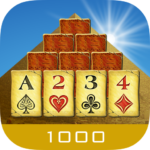 Pyramid Solitaire 1000
