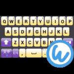 Violet keyboard image