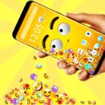 3D Rolling Emoji Gravity Live Wallpaper & Launcher