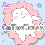 AaOnTheClouds™ Latin Flipfont