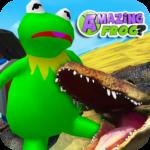 Amazing Frog vs Enemies Simulator Game