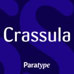 Crassula Latin and Cyrillic FlipFont